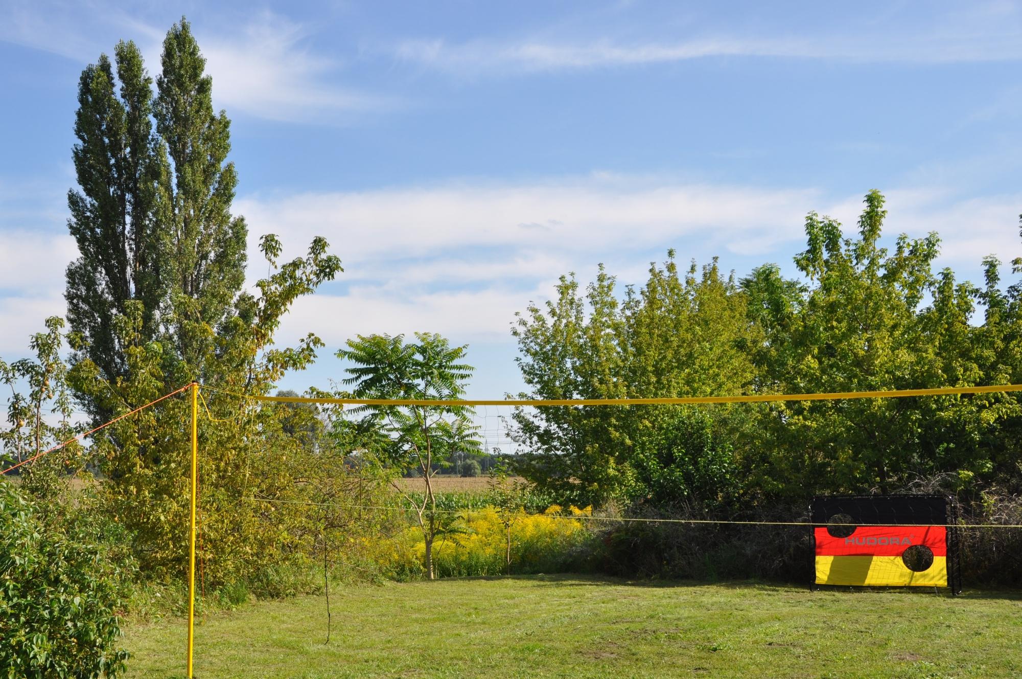 Unser Volleyballplatz